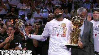 LeBron James NBA FINALS Remade Champion Commercial!