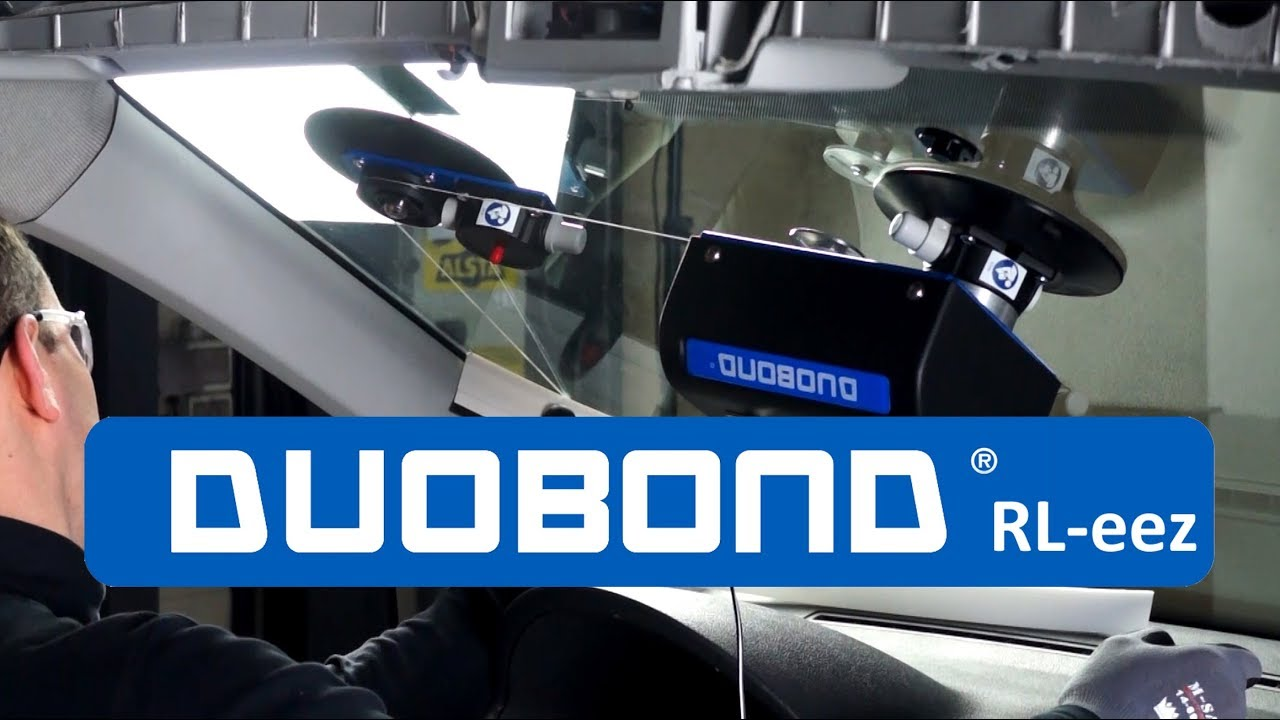 Duobond ® system RL-eez windscreen removal - YouTube