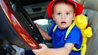 """""""We Are in the Car"""" Song +More Nursery Rhymes & Kids Songs - LETSGOMARTIN"""