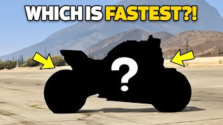 GTA 5 Online Which is Fastest Bikes Part #01 (Max Speed, Price, Fastest & More!)
