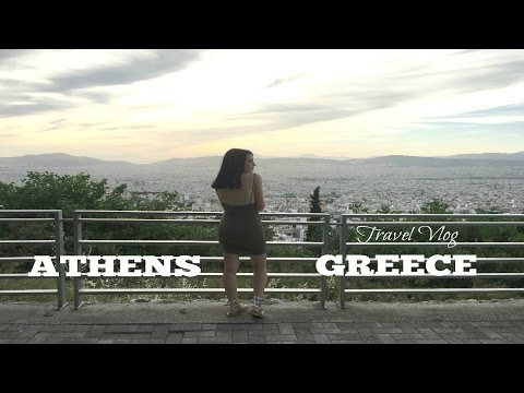 Greece Travel Vlog || Athens