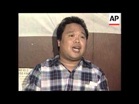 PHILIPPINES: REBEL LEADER VOWS TO CONTINUE WORKING FOR REVOLUTION