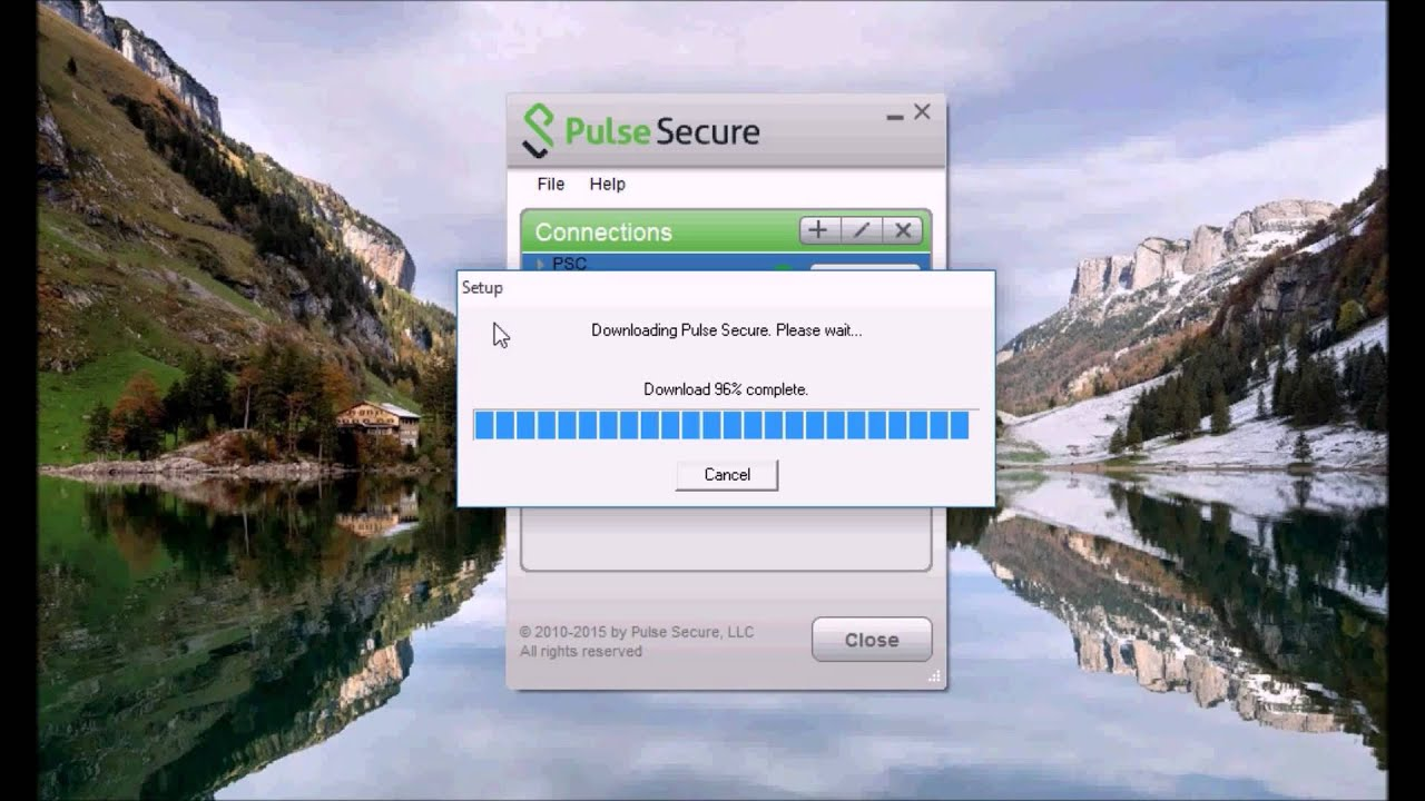 Upgrading the Pulse Secure Client from 5 1 5 towards version 5 1 6