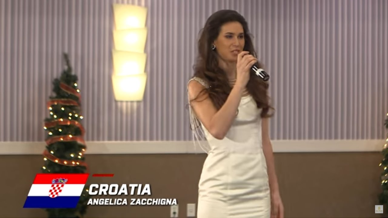 Croatia, Angelica Zacchigna - Top 10 Talent: Miss World 2016