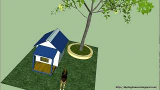 Detailed Instruction - How To Build An Insulated Dog House 1