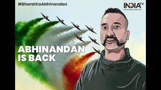IAF Pilot Abhinandan Returns To India Via Wagah Border | Breaking News | #BharatKaAbhinandan