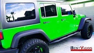 Jeep-хамелеон • Парамагнитная краска