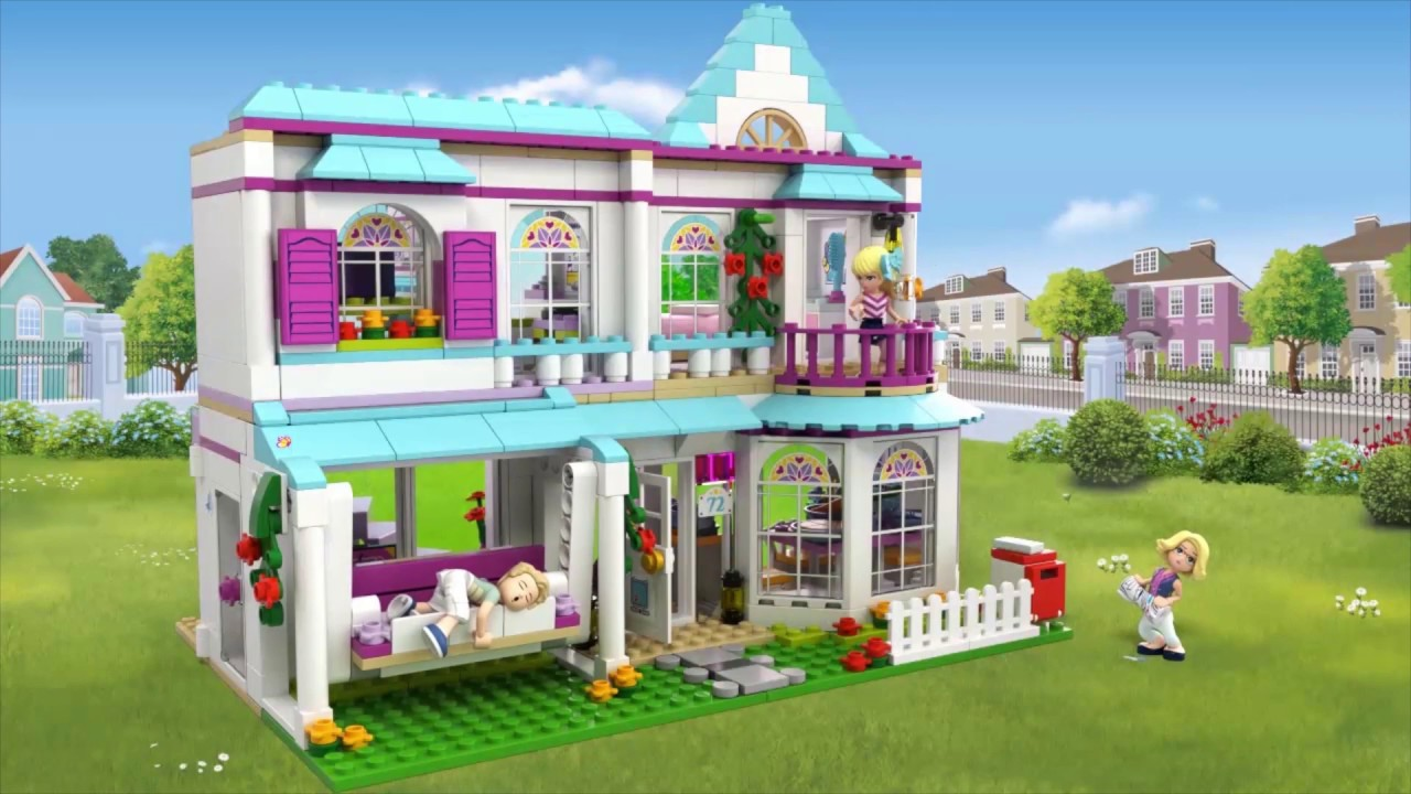 la maison de st phanie lego friends 41314 be fr youtube. Black Bedroom Furniture Sets. Home Design Ideas