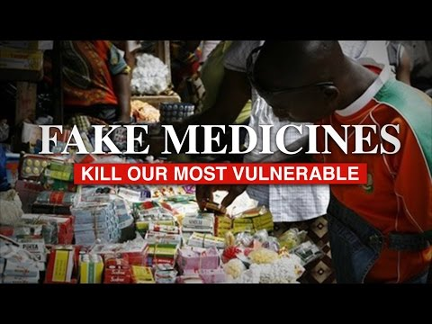 "Ronald Noble Founder of RKN Global: ""Corruption & Fake Medicines Kill"""