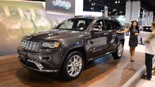 2013 Jeep Grand Cherokee Spokes Model Unlimited Edition 30 MPG