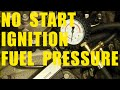 Diagnose car STARTING PROBLEMS no start FUEL PRESSURE spark test IGNITION COIL Chrysler Dodge Jeep