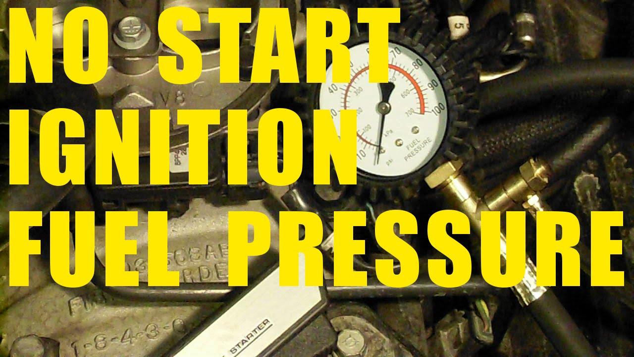 diagnose car starting problems no start fuel pressure spark test ignition coil chrysler dodge jeep [ 1280 x 720 Pixel ]