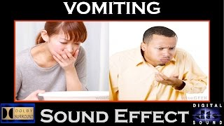 Vomiting Sound Effect | HI - RES AUDIO
