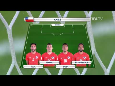 Match 3 - Cameroon v Chile -Team Lineups - FIFA Confederations Cup 2017