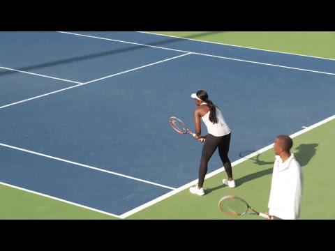 LIVE US Open Tennis 2017: Sloane Stephens Practice