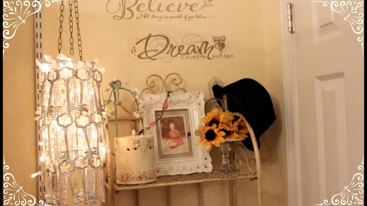 Shabby Chic DIY Chandelier