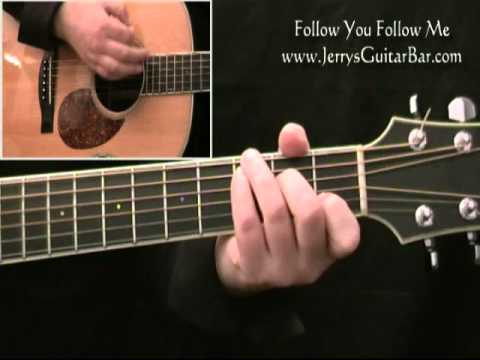 How To Play Genesis Follow You Follow Me - Acoustic Guitar Lesson ...