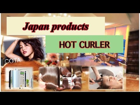 Japan Products HOT CURLER Easy Hair Make!