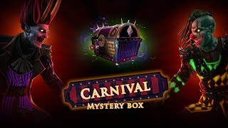 What's in the Carnival Mystery Box?