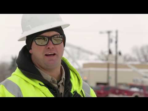 Grand Electric lineworkers light up the town of Bison, SD