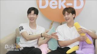 "[Live] Dek-D สัมภาษณ์ ""โจ-เน๋ง"" จาก MakeItRightSeason 2 และ ChulaCuteBoy"