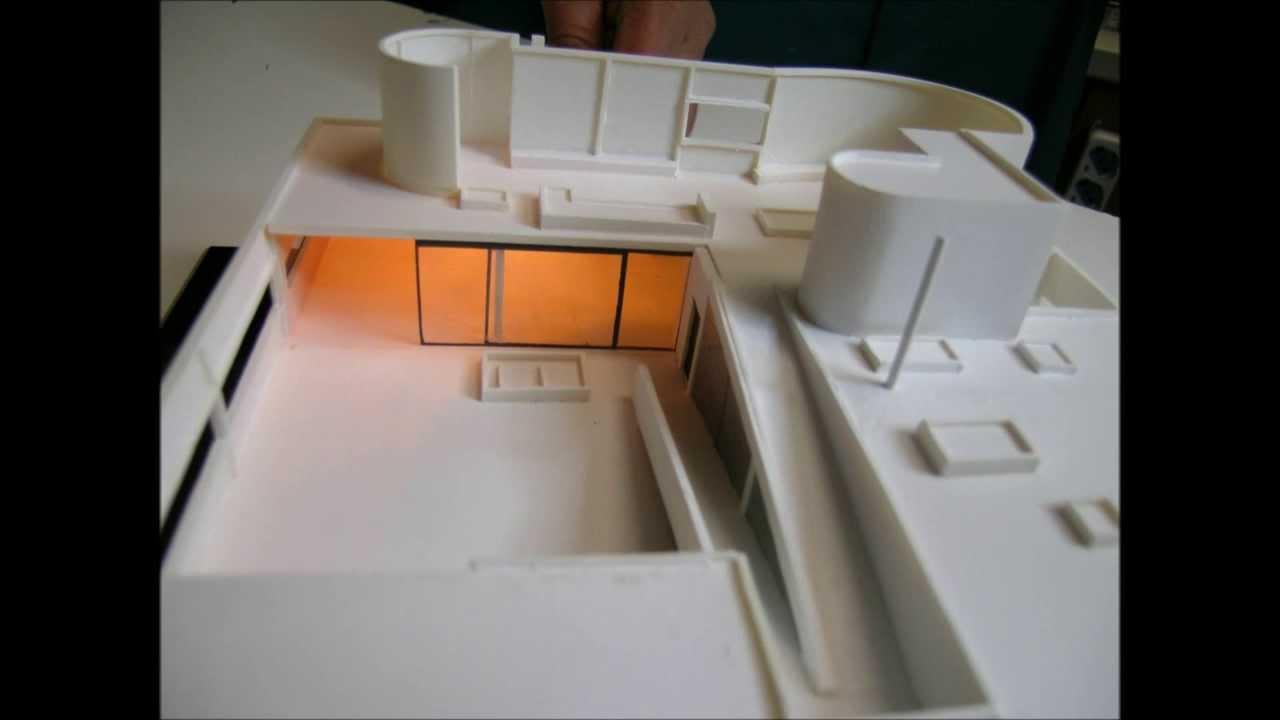 Bien-aimé Historical Architectural Models - Le Corbusier VILLA SAVOYE scale  OE57