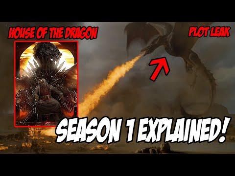 PLOT LEAK! House Of The Dragon Season 1 (In-depth Guide)