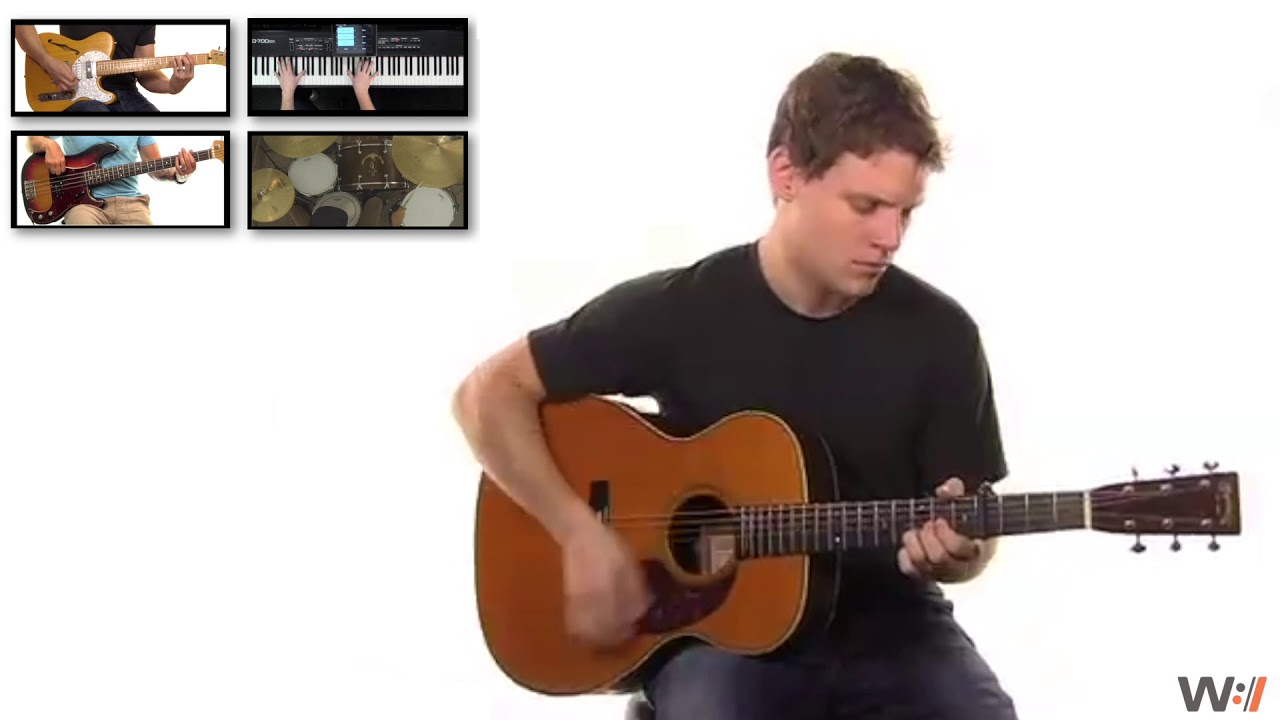 how to play always by kristian stanfill on guitar