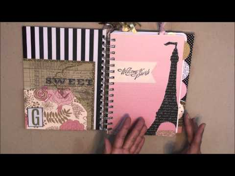 """""""Live the Dream"""" Customized Planner, Part 1: Materials and Design"""