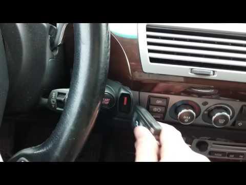 """Привязка модуля автозапуска """"MOTOR START BMW"""" к CAS для BMW E65, E66, E67"""