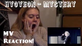 Hyoyeon/효연 - Mystery MV Reaction - Hannah May