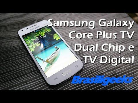 Samsung Galaxy Core Plus TV - Análise e Testes