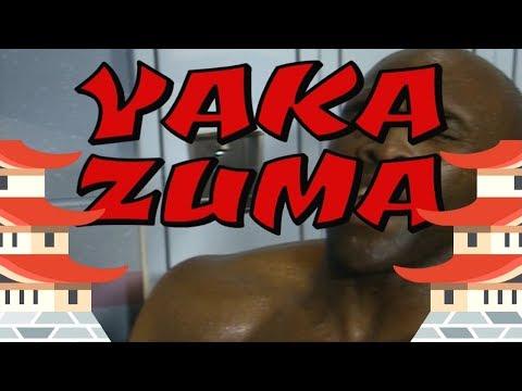 Virgil warns Bret Hart about Yaka Zuma (with 2018 WWE graphics)