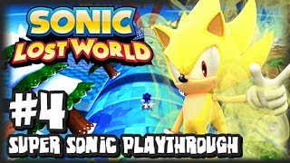 Sonic Lost World Wii U - (2K HD) Super Sonic Playthrough - Part 4 w/SomeCallMeJohnny