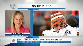 Mary Kay Cabot of The Plain Dealer Talks Johnny Manziel on The RE Show - 6/1/15