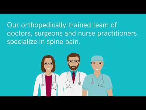 Spine Surgeons at Central Indiana Orthopedics
