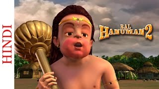 Bal Hanuman 2 in 3D - Cartoon Action scenes