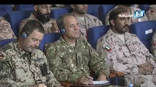 مؤتمر صحفي لتحالف دعم الشرعية في اليمن