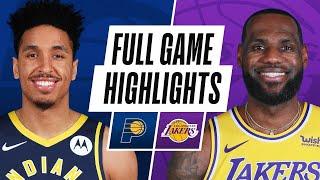 Game Recap: Lakers 105, Pacers 100