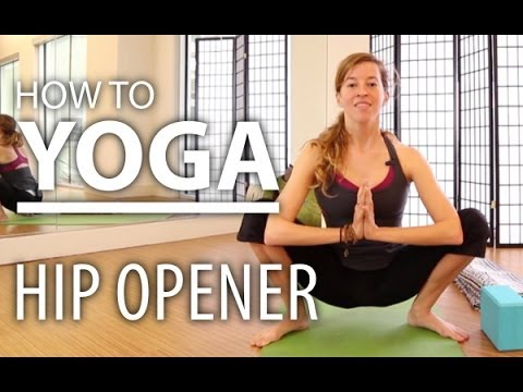 yoga for beginners  7 minute hip opening stretch yoga