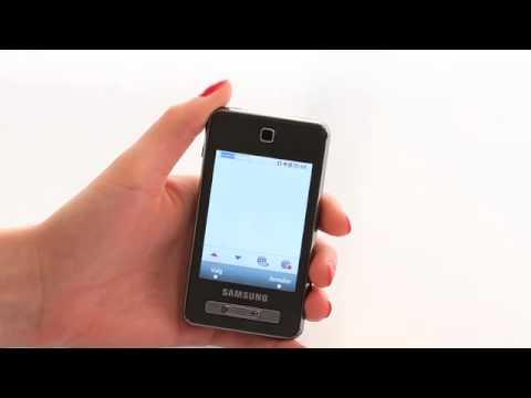 Samsung SGH-F480 - opsætning til navigation