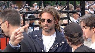 Bradley Cooper, Sachin Tendulkar, Jude Law, Nico Rosberg leaving Wimbledon