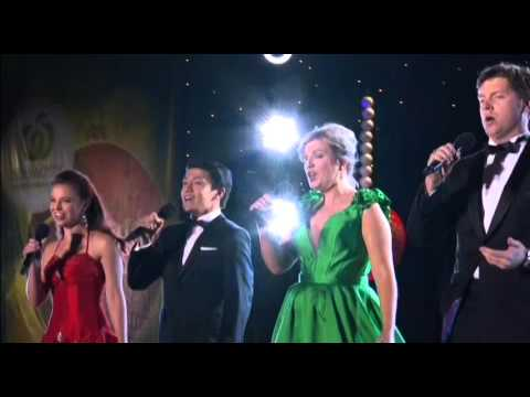 Woolworths Carols in the Domain 2015 - Opera Stars- Angels we have heard on High