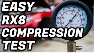 Mazda Rx8 Compression Test | EASY, FAST, CHEAP!