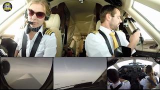 Hahn Air Sovereign: 3 FULL COCKPIT FLIGHTS 20 Minutes Pure Action (bug fixed) [AirClips]