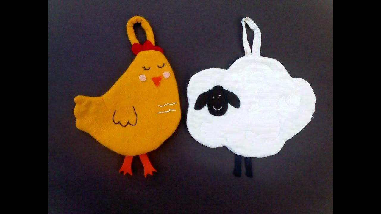 Como hacer agarraderas para la cocina gallina y oveja - Ollas de cocina ...