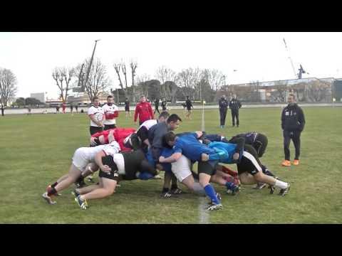 Rugby Club de la Marine Nationale RCT Toulon Espoirs Préparation Physical Live TV Sports 2016