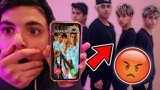 CALLING THE DOBRE BROTHERS AT 3AM! (THEY BROKE INTO MY HOUSE!)