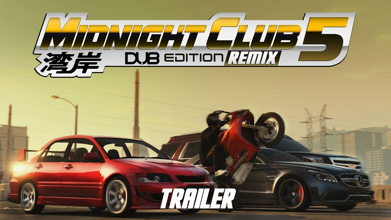 midnight club 5 dub edition remix official trailer e3 2017