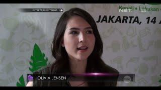 Olivia Jensen terapkan pola hidup sehat